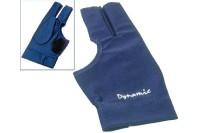 Halbfingerhandschuh, Deluxe 2, 3-Finger, blau
