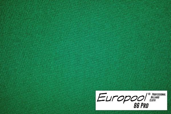 Billardtuch, Europool, 165 cm, gelbgrün