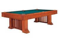 Billardtisch, Pool, Romance, 8 ft. (Fuß), incl. Abdeckung, antikbraun