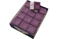 Billard-Kreide, Silver Cup, violett, 12er Pack