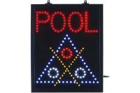 LED-Schild, Pool
