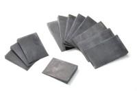 Cushion Facings, 6-7mm, Set of 12 Pcs., tapered