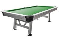 Billardtisch, Pool, Sydney, 8 ft. (Fuß), silber