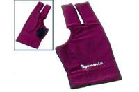 Halbfingerhandschuh, Deluxe 2, 3-Finger, burgund